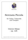 Serenata Piccola, op. 128