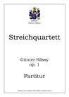 Streichquartett, op. 1