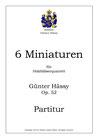 6 Miniaturen für Holzbläser-quintett, op. 52