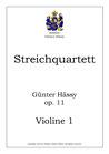 Streichquartett, op. 11
