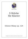 5 Stücke für Klavier, op. 124