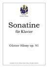 Sonatine für Klavier, op. 91