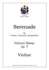 Serenade für Violine, Violoncello und Querflöte, op. 7