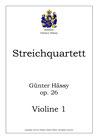 Streichquartett, op. 26