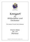 Konzert für Altblockflöte und Orchester, op. 151