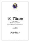 10 Tänze aus Anjou, op. 58