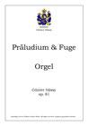 Präludium und Fuge, op. 81