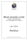 "Motette ""Beati mundi corde"", op. 121a"