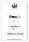 Sonate für Violoncello und Klavier, op. 5
