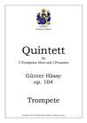 Blechbläser-quintett, op. 104