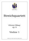 Quartett für Streicher, op. 6