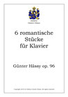 Sechs romantische Stücke, op. 96b