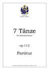 7 Tänze, op. 112
