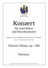 Konzert für einen Bläser, op. 100