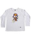 Feenreise 160/199 - Kinder Langarm Shirt, 6-7 Jahre, weiss