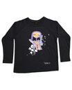 Feenreise 120/199 - Kinder Langarm Shirt, 4-5 Jahre, schwarz