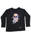 Feenreise 112/199 - Kinder Langarm Shirt, 4-5 Jahre, schwarz