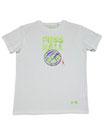 Fussball 91 - Männer Kurzarm Shirt, small, weiss