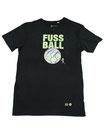 Fussball 93 - Männer Kurzarm Shirt, small, schwarz