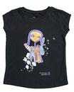 Feenreise 28/199 - Mädchen Kurzarm Shirt, 2-3 Jahre, schwarz