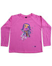 Feenreise 109/199 - Kinder Langarm Shirt, 4-5 Jahre, bubble gum pink