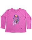 Feenreise 48/199 - Kinder Langarm Shirt, 2-3 Jahre, bubble gum pink