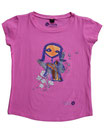 Feenreise 135/199 - Mädchen Kurzarm Shirt, 6-7 Jahre, bubble gum pink