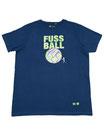 Fussball 98 - Männer Kurzarm Shirt, large, swiss navy