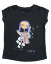 Feenreise 27/199 - Mädchen Kurzarm Shirt, 2-3 Jahre, schwarz