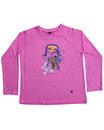 Feenreise 169/199 - Kinder Langarm Shirt, 6-7 Jahre, bubble gum pink