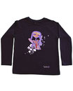 Feenreise 179/199 - Kinder Langarm Shirt, 6-7 Jahre, schwarz