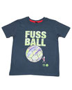 Fussball 17 - Kinder Kurzarm Shirt, 2-3 Jahre, washed navy