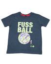 Fussball 15 - Kinder Kurzarm Shirt, 2-3 Jahre, washed navy
