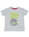 Fussball 9 - Kinder Kurzarm Shirt, 2-3 Jahre, weiss