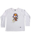 Feenreise 151/199 - Kinder Langarm Shirt, 6-7 Jahre, weiss