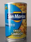 Chiles Largos en Escabeche San Marcos con 400 gr.