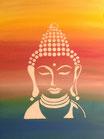 Margit Anglmaier: Buddha Rainbow