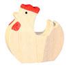 Huhn weiss, handgesägt
