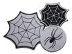 Set Spinne und Spinnennetz Patches