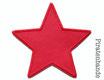 Stern rot Aufnäher