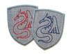 Drachen Wappen Applikation