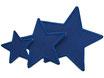 Regenhosen Stern dunkelblau