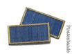 2 Trostpflaster für die Jeans - ocker