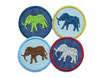 Jeansflicken Mini Elefant 2er Set