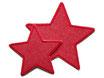 Stern Jeans rot Aufnäher