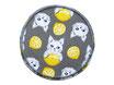 Hosenflicken Katzen mit Zitronen