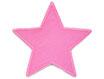 Stern Cord rosa Aufnäher