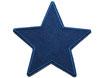 Stern Cord dunkelblau Aufnäher