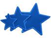 Regenhosen Stern blau