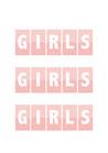 POSTER / GIRLS GIRLS